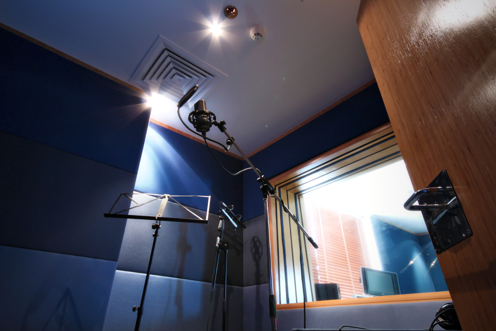Arabic Voice Over Recording Booth | Vox Arabia arabic voice over About Us studio1 booth
