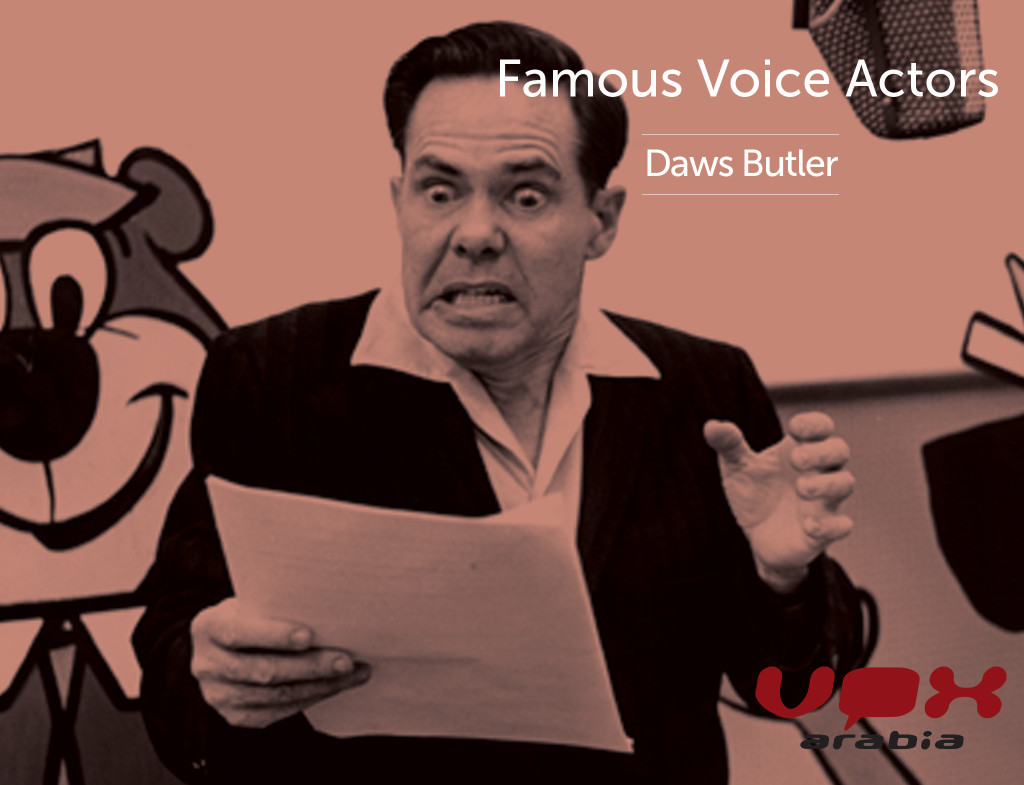 Famous Voice Over | Daws Butler | Home of Arabic Voices