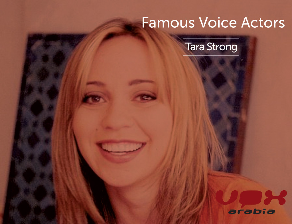 Famous Voice Over | Tara Strong | Vox Arabia