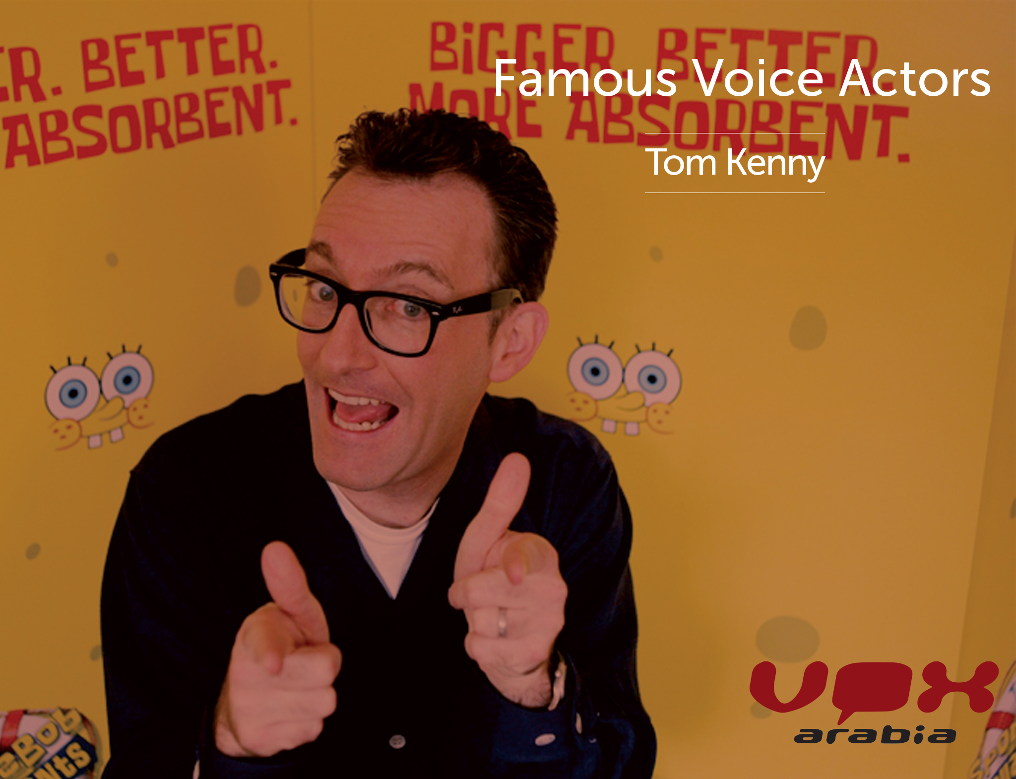 Famous Voice Over | Tom Kenny | Arabic Voice Actors Portal