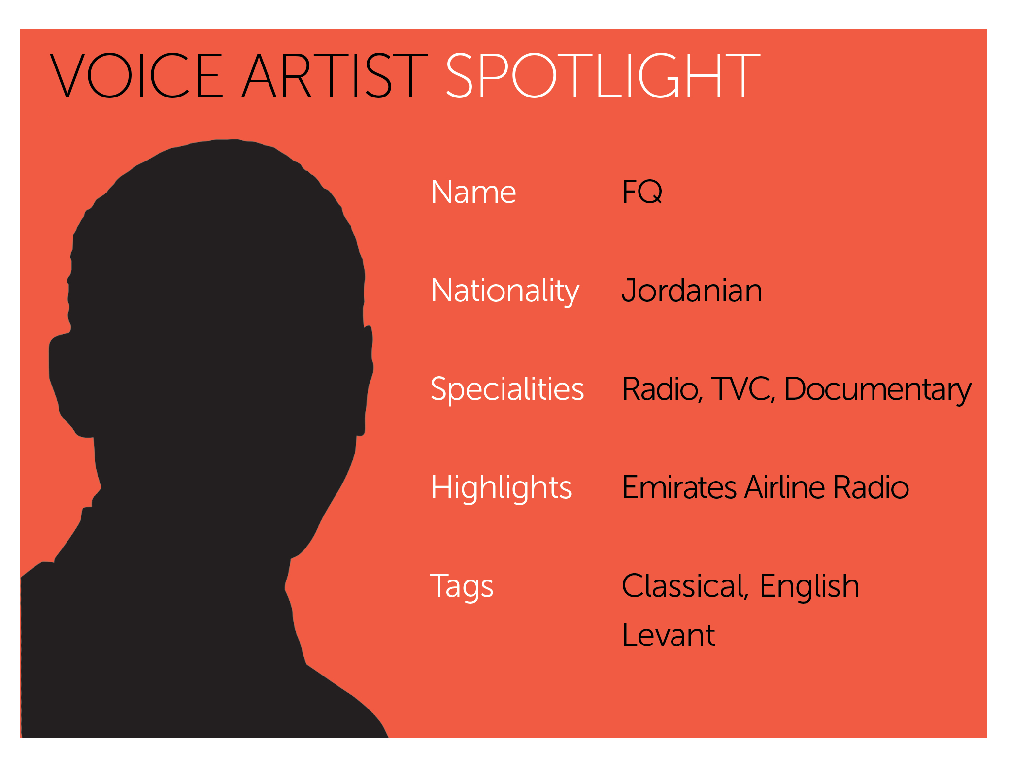Arabic Voice Actor Spotlight | FQ | Vox Arabia