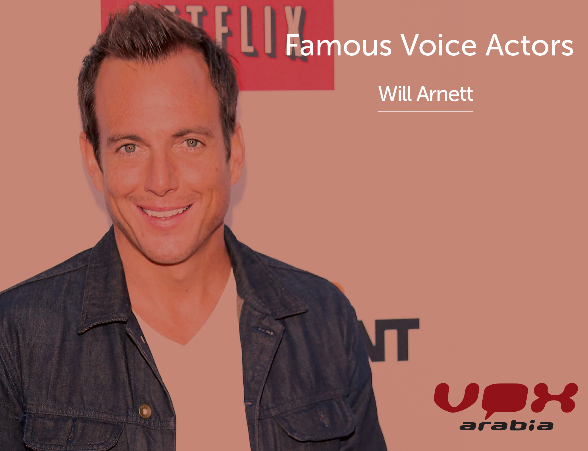 Famous Voice Over | Will Arnett | Arabic Voice Artist